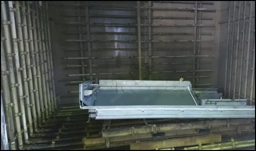 粉体塗装 竪釜式焼付炉 洗浄・前処理、乾燥